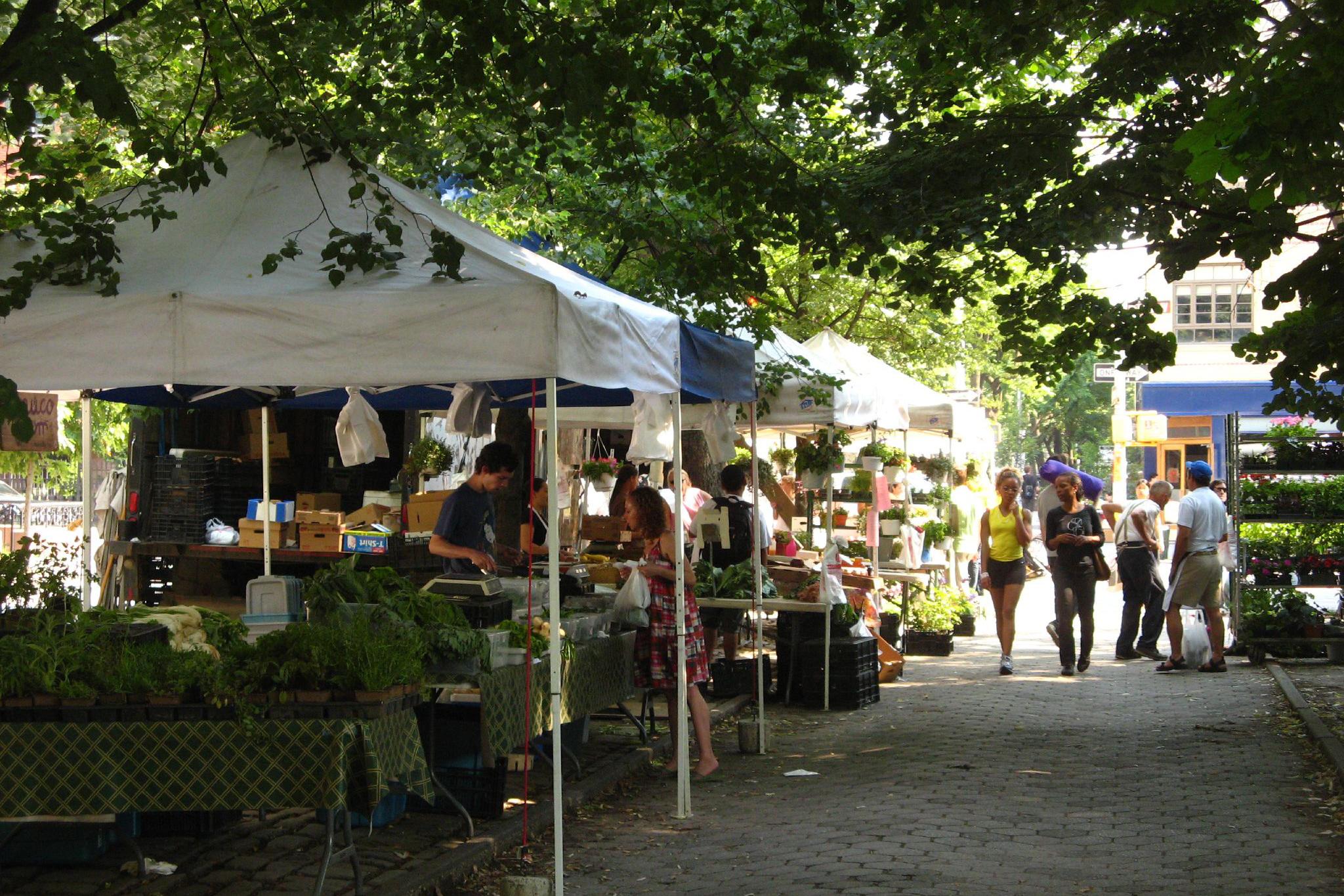 Fort Greene Park Greenmarket