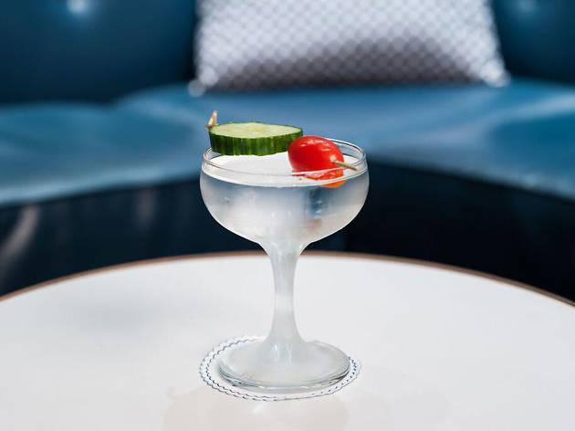 Now Boarding martini