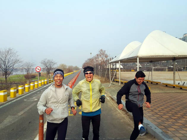 Seoul Flyers Running Club : Ichon Hangang Park