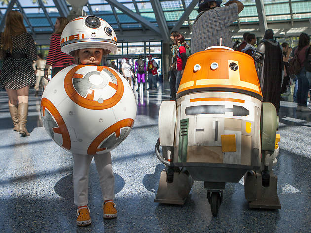 WonderCon 2016 cosplay took over Downtown LA this weekend