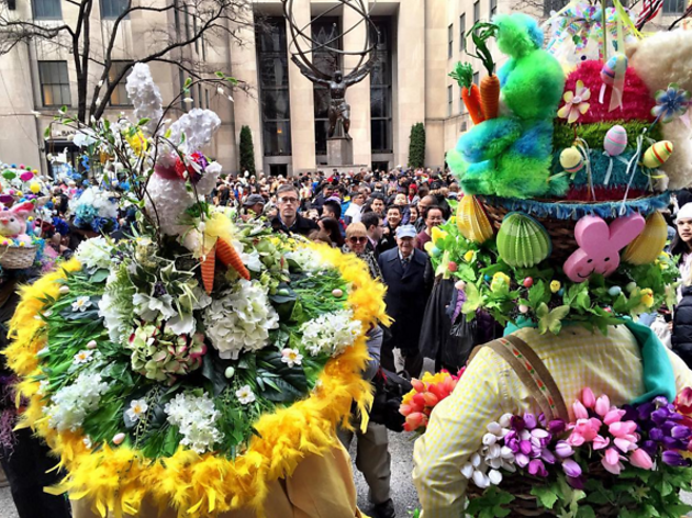 Easter in nyc guide including easter events and brunch deals the 20 best bonnet instagrams from the easter parade negle Image collections