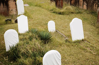 Biennale of Sydney 2016 Camperdown Cemetery Mar 25 installation view 01 of Bo Christian Larsson 2016 Fade Away Fade Away Fade Away photographer credit
