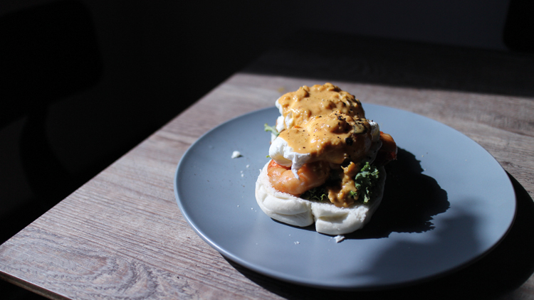 Drury Lane, Salted egg Benedicts