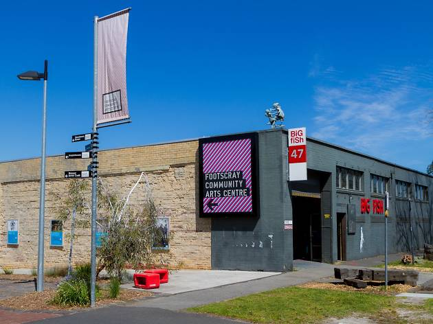 The exterior of the Footscray Community Arts Centre