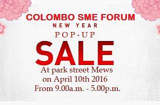 Colombo SME Forum New Year Pop-up Sale