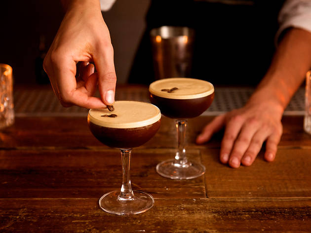 Buzzing! It's your favourite espresso martinis in London