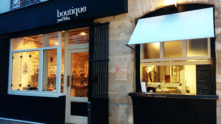 boutique yam tcha restaurants in les halles paris. Black Bedroom Furniture Sets. Home Design Ideas