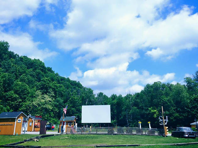 Four Brothers drive-in theater