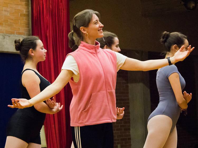 Danza clásica: Martha Elena Trejo