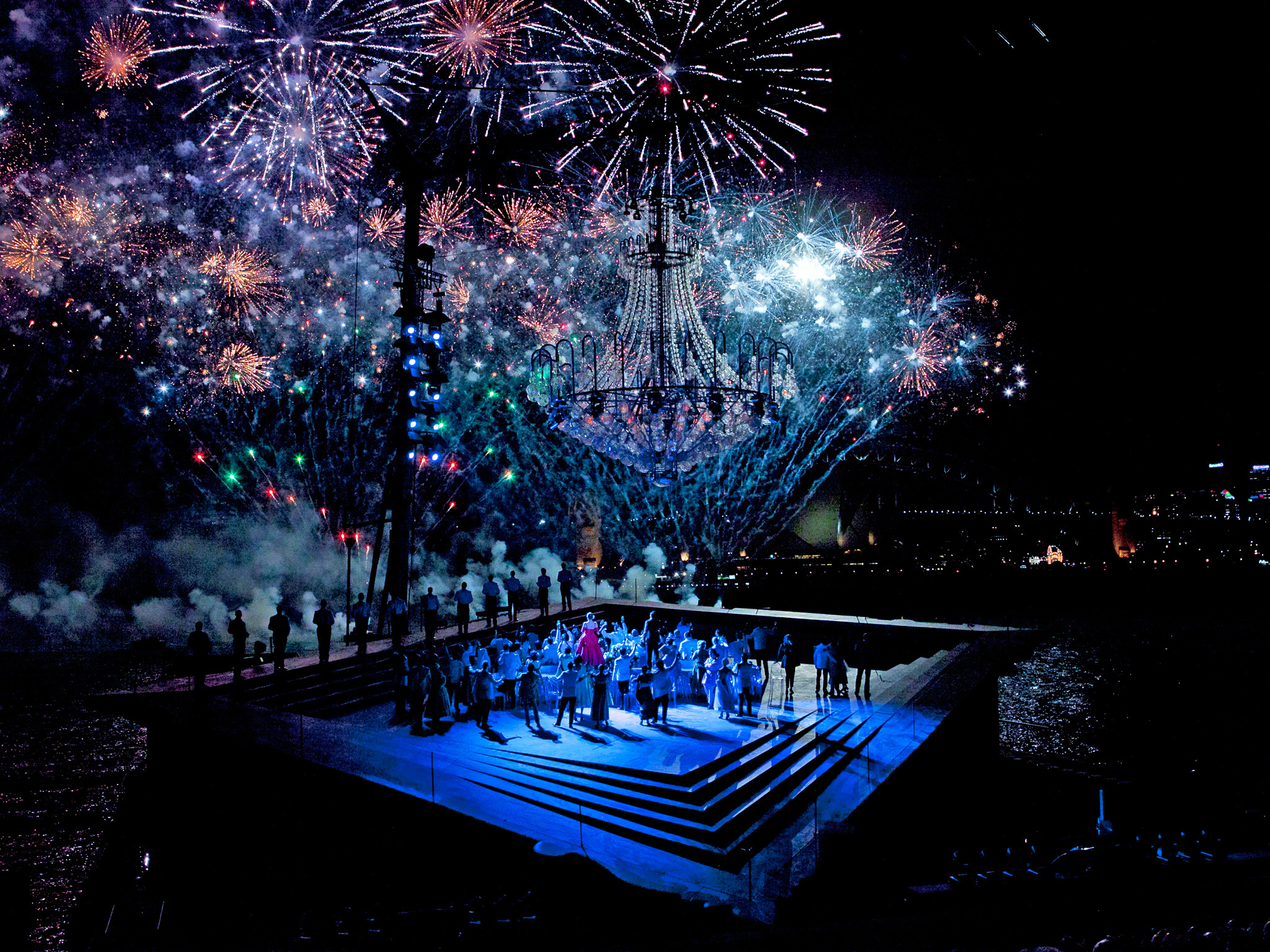 Handa Opera on Sydney Harbour 2012 production image courtesy Opera Australia