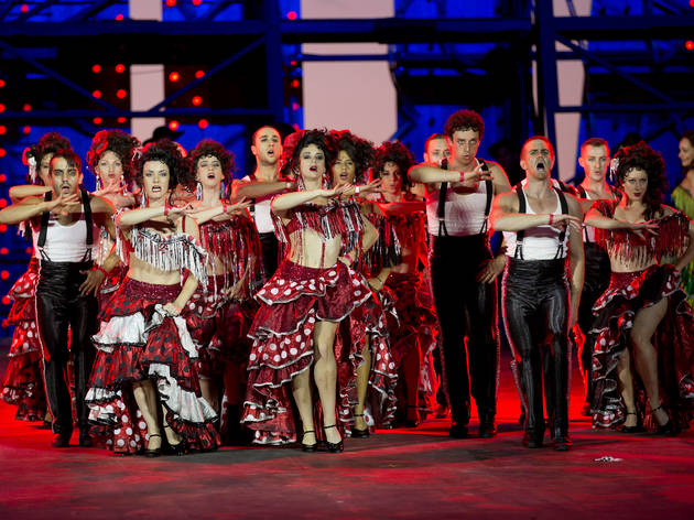 Handa Opera on Sydney Harbour 2013 Carmen production image 01 photo credit James Morgan courtesy Opera Australia