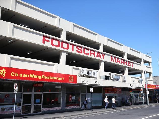 The exterior of the Footscray Market