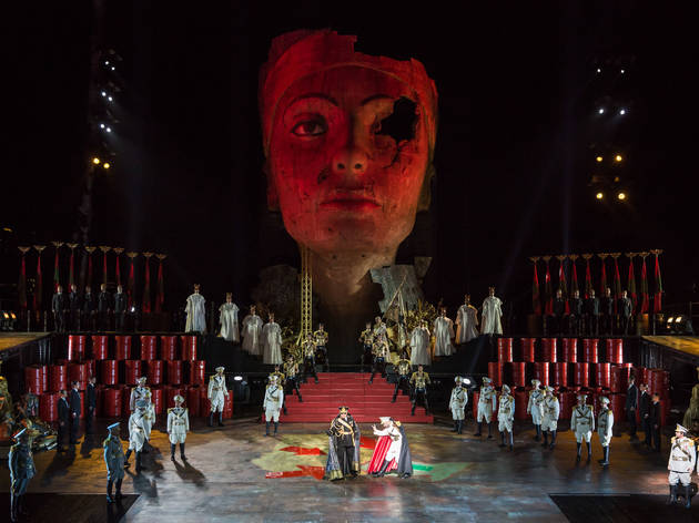 Handa Opera on Sydney Harbour 2015 Aida production image 01 (c) Time Out Sydney photographer credit Daniel Boud