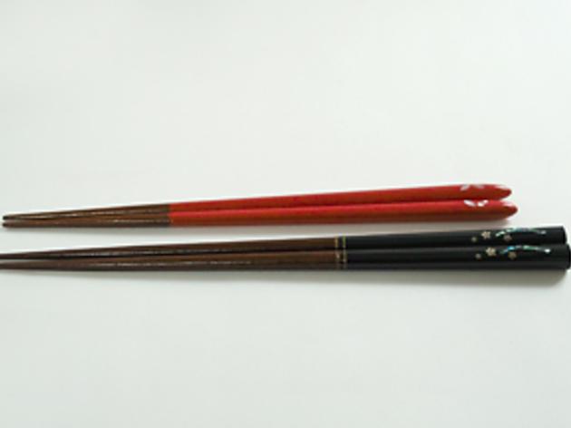 『塗り箸』