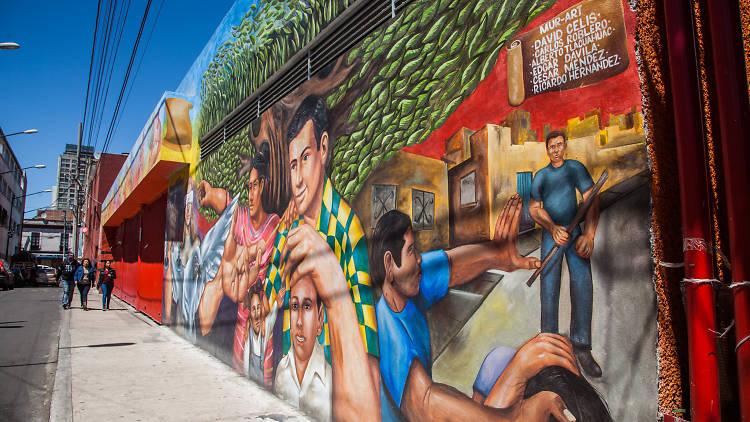 El Centro de artes y oficios Tepito es un espacio de arte recuperado