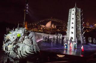Wide shot feat whole stage (Photograph: Daniel Boud)