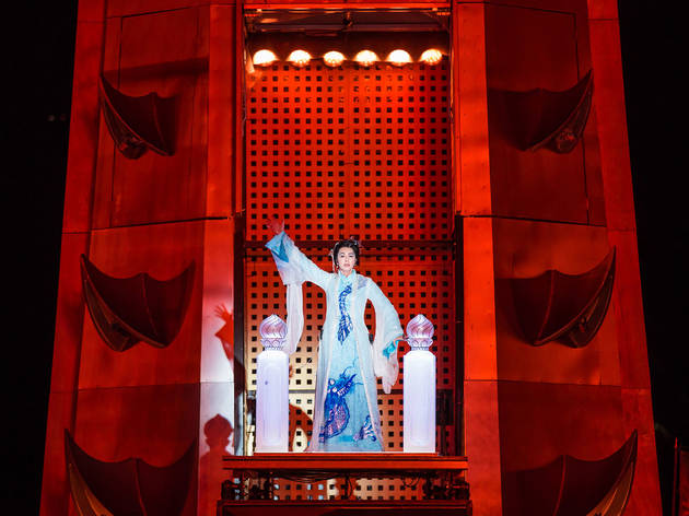 Turandot 2016 prod image 3 (Photograph: Daniel Boud)