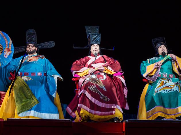 Turandot 2016 prod image 7 (Photograph: Daniel Boud)