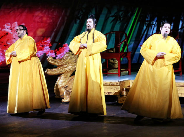 Turandot 2016 prod image 10 (Photograph: Prudence Upton)