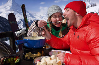 Fondue mountain