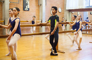 Diego Villalón de la Escuela de Ballet del Valle