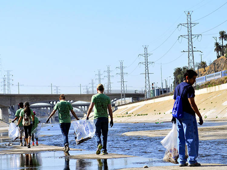 The Great Los Angeles River CleanUp (postponed)