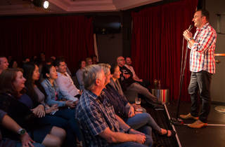 The Laugh Stand at Harold Park Hotel 2015 April 4 image 01 (c) Time Out Sydney photographer credit Anna Kucera