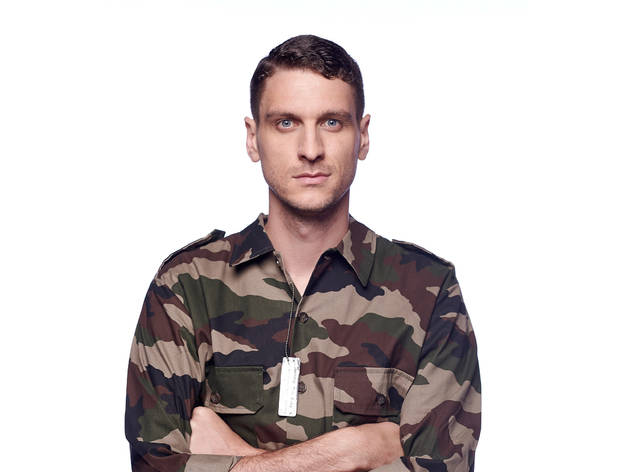 Steen Raskopoulos 2016 You Know The Drill image in camo shirt