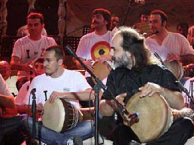 'Ustalarla Buluşmalar' Mısırlı Ahmet, Zakir Hussain, Niladri Kumar