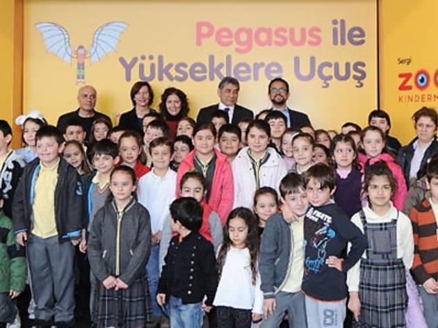 Pegasus ile yükseklere uçuş