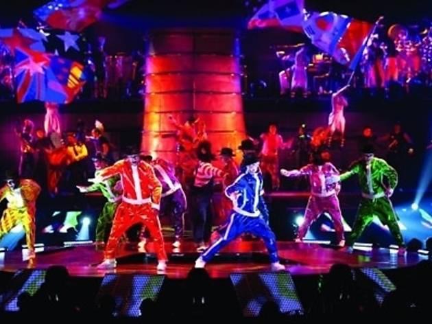 Cirque de Soleil, Michael Jackson The Immortal World Tour