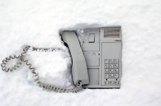 Açık Telefon Kulübesi