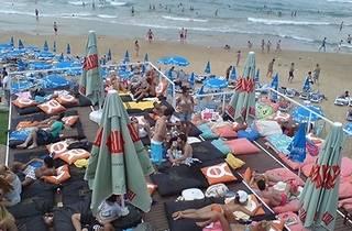 solar beach