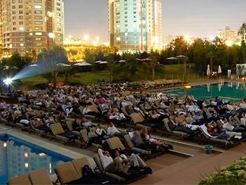 West Ataşehir's outdoor cinema