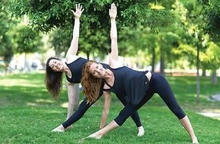 Bebek Parkı'nda Yoga