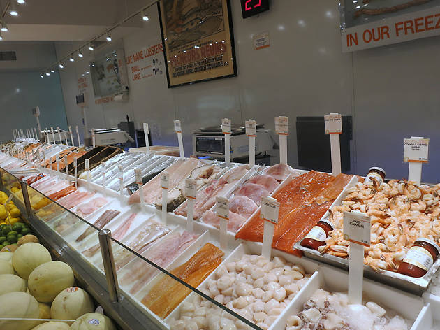 Find the best fish market in new york for fresh seafood for City fish market menu