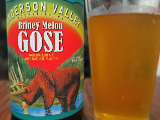 Briney Melon Gose, Anderson Valley Brewing Company, Boonville, CA