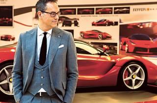 Ferrari's Senior Vice President of Design Flavio Manzoni
