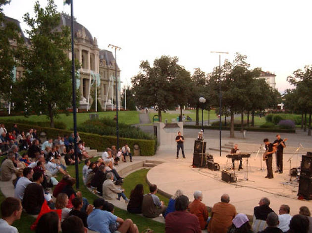 Outdoor gig at Lausanne Festival