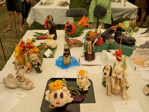 Vegetable sculpture