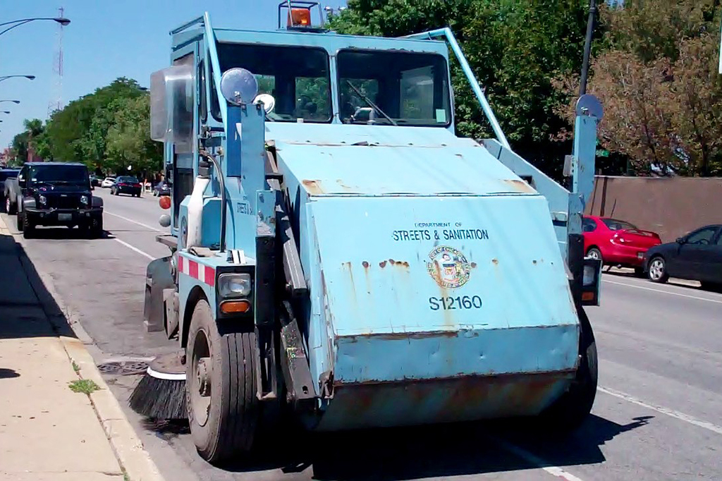 Don't worry about moving your car—Chicago street sweeping is delayed