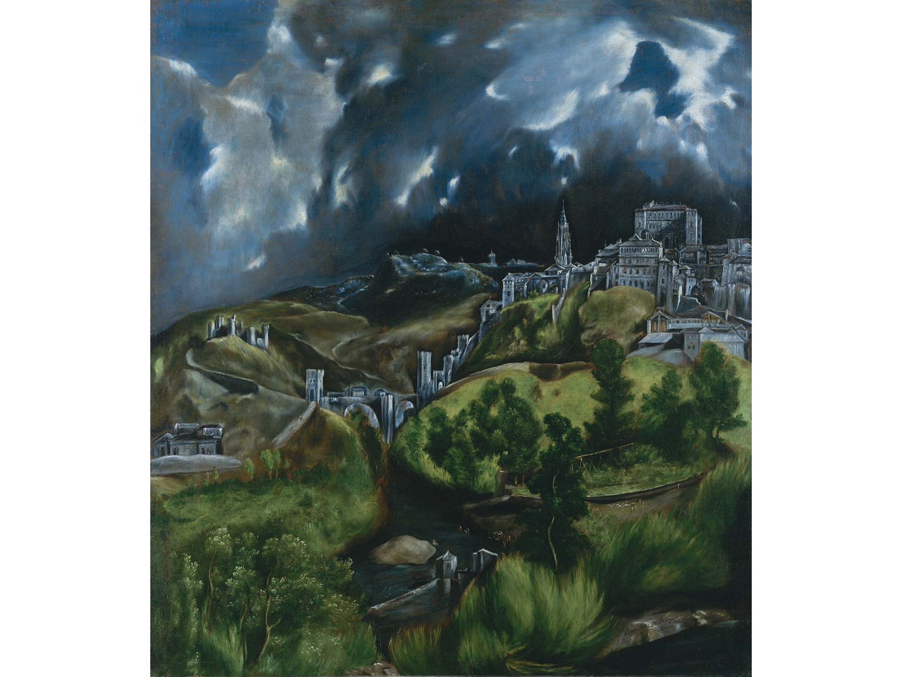 El Greco, View of Toledo, date unknown