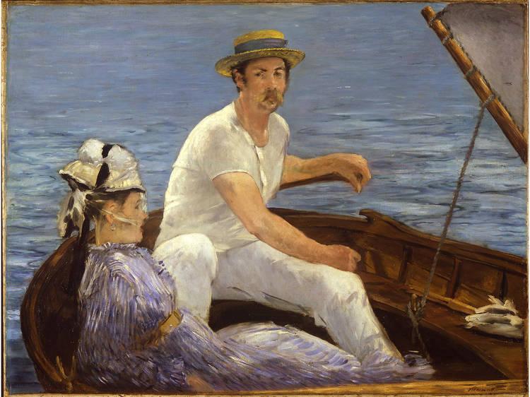 Édouard Manet, Boating, 1874