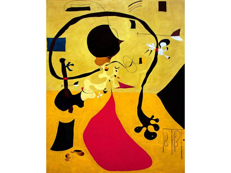 Joan Miró, Dutch Interior (III), 1928
