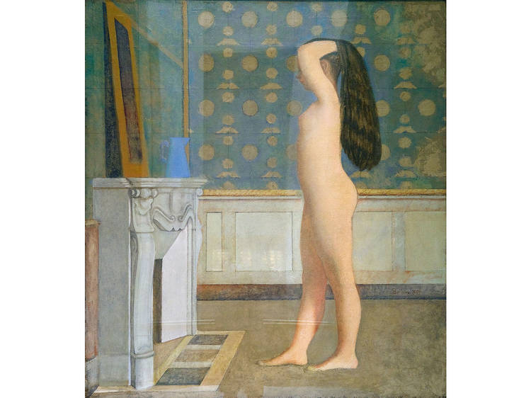 Balthus, Nude Before a Mirror, 1955