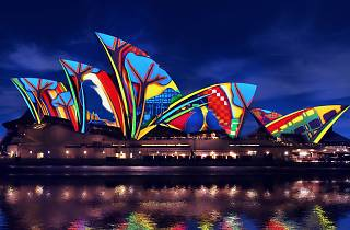 Sydney Opera House illuminated by Artists in Motion for Vivid