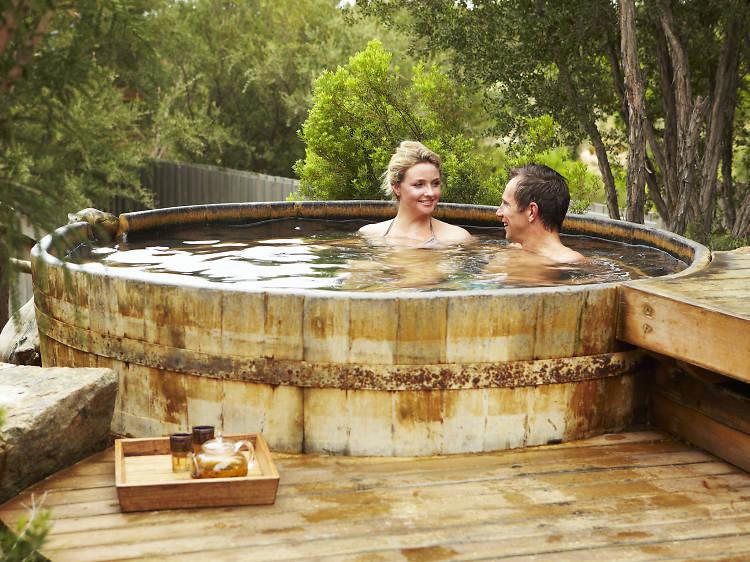 Soak away your troubles at Peninsula Hot Springs