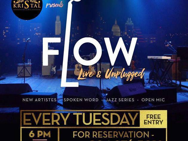 Flow live & Unplugged,Kristal Night club,Accra/Ghana
