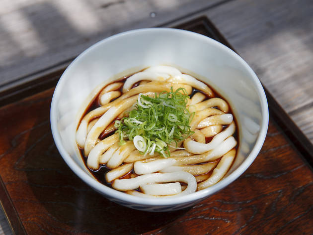 Time Out Café & Diner 7th Anniversary: Ise Udon Menu
