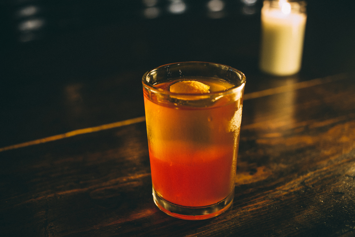 Old Fashioned at the Game Room